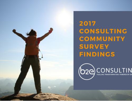 2017 Consulting Community Survey:  Flexibility – making the Gig Economy work