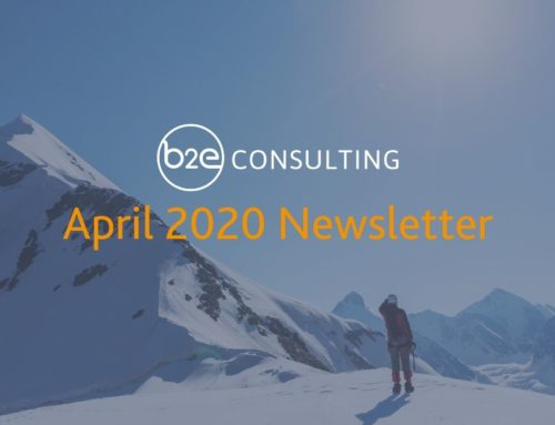 B2E April 2020 Newsletter