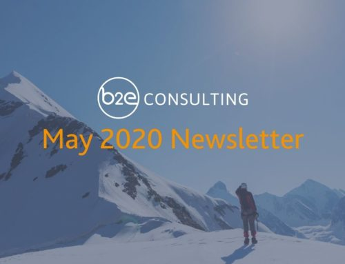 B2E May 2020 Newsletter