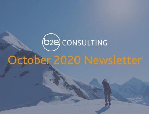 B2E October 2020 Newsletter