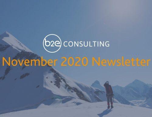 B2E November 2020 Newsletter