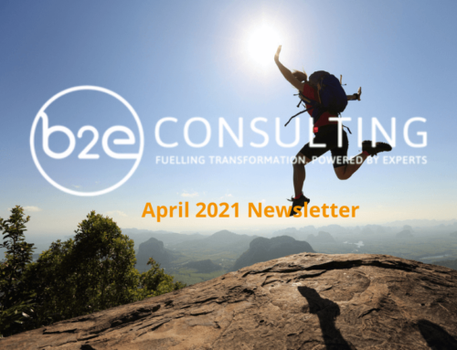 B2E April Newsletter
