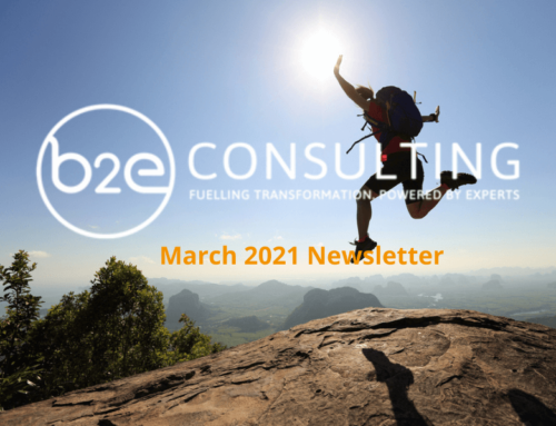 B2E March Newsletter